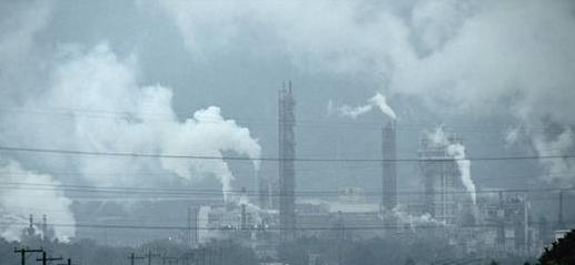 工場から排出される汚染物